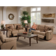 Catnapper Impulse Reclining Loveseat in Cafe with Power Option