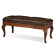A.R.T. Furniture Old World Leather Storage Bench