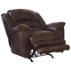 Catnapper Filmore Chaise Rocker Recliner with Oversized Xtra Comfort Footrest in Timber