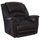 Catnapper Filmore Chaise Rocker Recliner with Oversized Xtra Comfort Footrest in Godiva