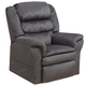 Catnapper Preston Power Lift Recliner in Smoke with Pillowtop