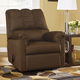 Signature Design by Ashley Darcy Rocker Recliner in Cafe