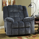 Signature Design by Ashley Ludden Rocker Recliner in Blue