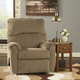Signature Design by Ashley Pranit Zero Wall Recliner in Cork
