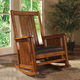 Madison Park Belmont Spindle Rocking Chair in Paisley