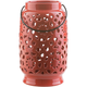 Surya Avery 11 Inch Lantern in Poppy