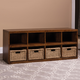 Hillsdale Furniture Tuscan Retreat Storage Cube with Baskets
