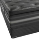 Simmons Beautyrest Black Natasha Plush Pillow Top Queen Mattress Only SDMB031892 - Scratch and Dent Model
