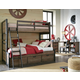 Legacy Classic Kids Fulton County Twin Over Full Bunk Bed with Underbed Storage Drawers