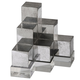 Uttermost Valerio Silver Bookends Set of 2