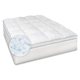 Soft-Tex MemoryLOFT Supreme 3.5'' Memory Foam and Fiber Bed Topper with Fitted Skirt