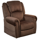 Catnapper Spencer Lay Flat Pow'r Lift Recliner with Power Headrest in Chocolate