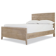 Universal Smartstuff #myRoom Full Size Reading Bed with Trundle in Gray and Parchment