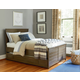 Universal Smartstuff Varsity Full Size Reading Bed with Trundle