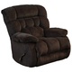 Catnapper Daly Power Lay Flat Recliner in Chocolate