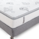 Classic Brands Mercer 12 Inch Hybrid Cool Gel Memory Foam and Innerspring Queen Size Mattress