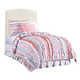 Stone & Leigh Clementine Court Twin Upholstered Headboard in Frosting
