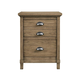 Stone & Leigh Driftwood Park Nightstand in Sunflower Seed