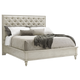 Lexington Oyster Bay Sag Harbor King Size Tufted Upholstered Bed
