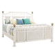 Tommy Bahama Ivory Key Pritchards Bay Queen Size Panel Bed