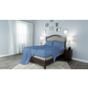 Protect-A-Bed Therm-A-Sleep Crisp Hypoallergenic Twin Sheet Set in Blue