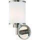 Clearance Hudson Valley Hewlett 1-Light Wall Sconce OVFCR121793