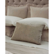 SFERRA Liana Decorative Pillow in Bronze