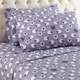 Shavel Micro Flannel® Queen Sheet Set - Sheep Lavender
