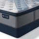 King Serta iComfort Hybrid Blue Fusion 5000 Cushion Firm Pillow Top Mattress + FREE $100 Gift Card