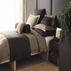 Peacock Alley Rio Linen Satin Stitch King Coverlet