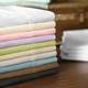 Malouf Woven Microfiber Split California King Size Sheet Set in Pacific