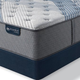 King Serta iComfort Hybrid Blue Fusion 1000 Luxury Firm Mattress + FREE $100 Gift Card