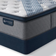 King Serta iComfort Hybrid Blue Fusion 1000 Luxury Firm Pillow Top Mattress + FREE $100 Gift Card