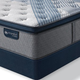 King Serta iComfort Hybrid Blue Fusion 4000 Plush Pillow Top Mattress + FREE $100 Gift Card