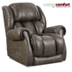 HomeStretch Atlantis Power Wall-Saver Recliner with Power Headrest and Power Lumbar Foot Extension in Slate