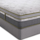 Queen Southerland Scandinavian Spa Comfort Latex Plush Euro Top Mattress