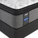 Sealy Posturepedic Response Performance Cooper Mountain IV Plush Pillow Top Queen Size Mattress with Ease 2.0 Adjustable Base