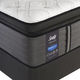 Sealy Posturepedic Response Premium Barrett Court IV Plush Pillow Top Queen Size Mattress with Ergo Adjustable Base