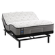 Sealy Posturepedic Response Performance Cooper Mountain IV Firm Queen Size Mattress with Ergo Adjustable Base