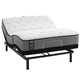 Sealy Posturepedic Response Performance Cooper Mountain IV Plush Queen Size Mattress with Ergo Adjustable Base