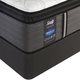 Sealy Posturepedic Response Premium Warrenville IV Cushion Firm Pillow Top King Size Mattress with Ergo Extend Adjustable Base