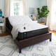 Sealy Posturepedic Response Performance Mountain Ridge IV Plush Queen Size Mattress with Ease 2.0 Adjustable Base