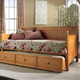 Fashion Bed Group Casey Daybed in Honey Maple with FREE Trundle