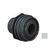"""AquaStar Flus-Mount Return Fitting   with Water Stop Eyeball and Nut Aim Flow   with 3/4"""" Orifice   Light Gray   303B"""