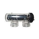CompuPool OEM Replacement Salt Cell with Housing for CPSC24   5-Blade for up to 26000 Gallons   JD363130C-COMPL