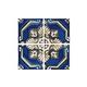National Pool Tile Iberia Series | Royal Blue Print | La-Mancha