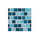 National Pool Tile Essence 1x1 Glass Tile | Imperial Blue | ES-IMPERIAL 1X1