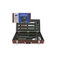 Mr BBQ 5 Pc Forged Set In Wood Carrying Case | 02136