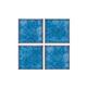 National Pool Tile Akron Field Series | Cloud Olive Blue | KAK325