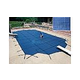 Arctic Armor 20-Year Super Mesh Safety Cover | Rectangle 12' x 20' Blue | WS702BU